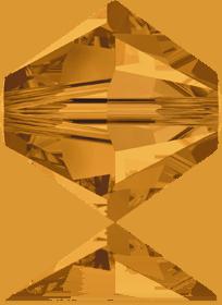 5301/5328 - 8mm Swarovski Bicone Crystal Bead - Topaz