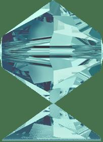 5301/5328 - 8mm Swarovski Bicone Crystal Bead - Blue Zircone