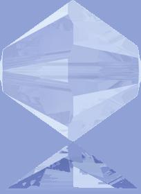 5301/5328 - 8mm Swarovski Bicone Crystal Bead - Air Blue Opal