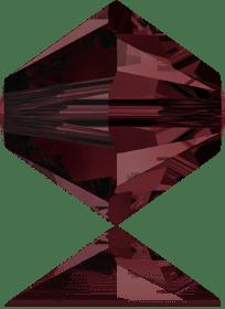 5301/5328 - 8mm Swarovski Bicone Crystal Bead - Burgundy
