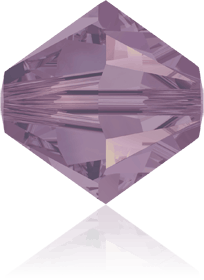 5301/5328 - 8mm Swarovski Bicone Crystal Bead - Cyclamen Opal