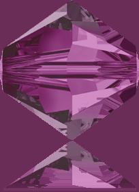 5301/5328 - 8mm Swarovski Bicone Crystal Bead - Fuchsia