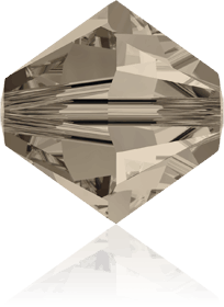 5301/5328 - 8mm Swarovski Bicone Crystal Bead - Greige