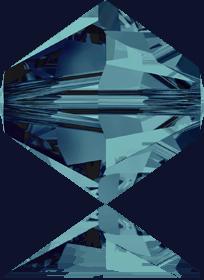5301/5328 - 8mm Swarovski Bicone Crystal Bead - Indicolite