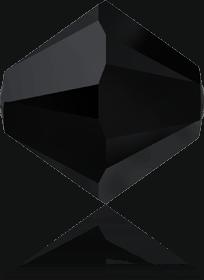 5301/5328 - 8mm Swarovski Bicone Crystal Bead - Jet