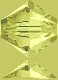 5301/5328 - 8mm Swarovski Bicone Crystal Bead - Jonquil