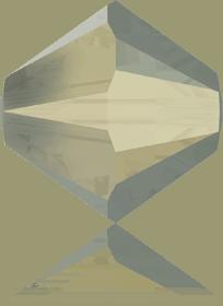 5301/5328 - 8mm Swarovski Bicone Crystal Bead - Light Grey Opal