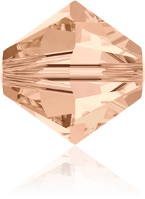 5301/5328 - 8mm Swarovski Bicone Crystal Bead - Light Peach