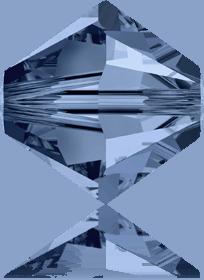 5301/5328 - 8mm Swarovski Bicone Crystal Bead - Montana