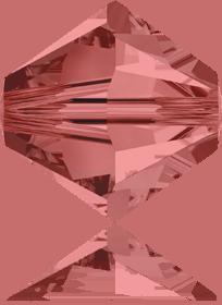 5301/5328 - 8mm Swarovski Bicone Crystal Bead - Padparcacha