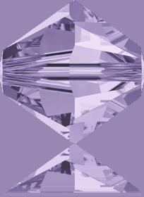 5301/5328 - 8mm Swarovski Bicone Crystal Bead - Violet