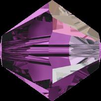 5301/5328 - 8mm Swarovski Bicone Crystal Bead - Amethyst AB