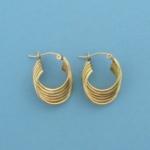 # 511 - 19mm 14K Gold Filled Earring Hoops