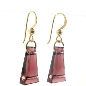 #25181 - Swarovski Crystal Earring with Gold Filled Ear Wire