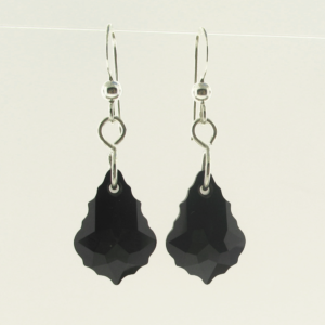 #26090 - Swarovski Crystal Earring with Silver Ear Wire