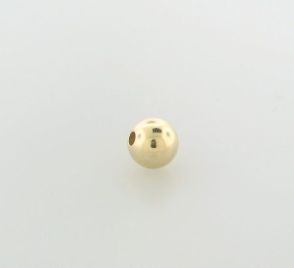 12 - 12mm Gold Filled Plain Round Bead