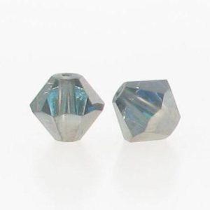 5301/5328 - 6mm Swarovski Bicone Crystal Bead - Bermuda Blue