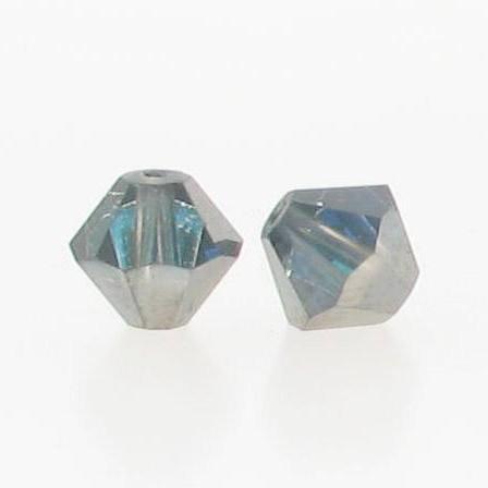 5301/5328 - 6mm Swarovski Bicone Crystal Bead -Bermuda Blue