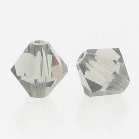 5301/5328 - 6mm Swarovski Bicone Crystal Bead - Black Diamond