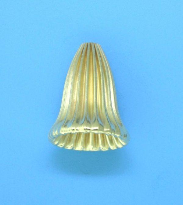 167 - 14.5x18mm Gold Filled Cap Bead