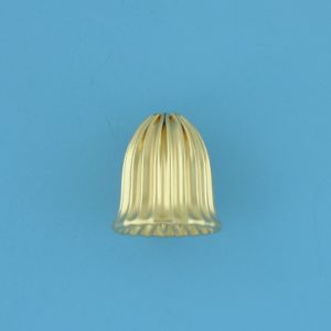1801 - 12x11.2mm Gold Filled Cap Bead