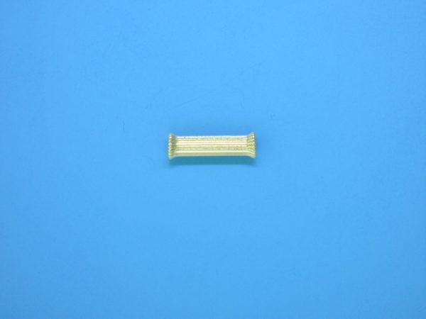143 - 3.5x12mm Gold Filled Bone Shape Bead