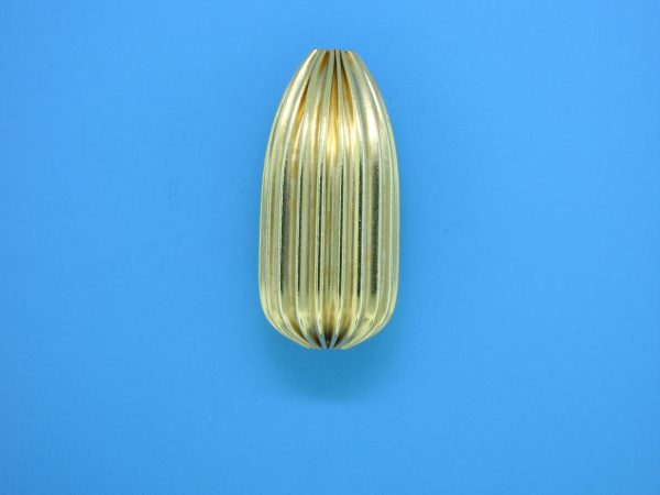 958 - 12x26mm Gold Filled Drop Bead