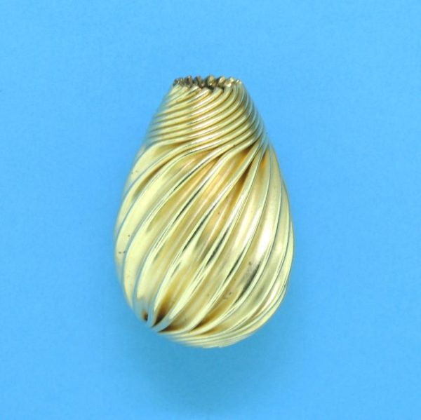 277 - 13x19mm Gold Filled Drop Bead