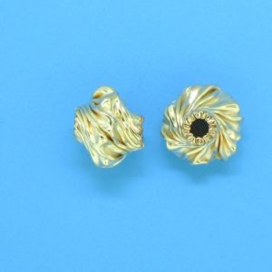 207 - 6.5x8mm Gold Filled Fancy Bead