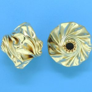 209 - 13.5x15mm Gold Filled Fancy Bead
