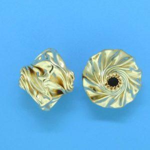 208 - 8.5x10mm Gold Filled Fancy Bead