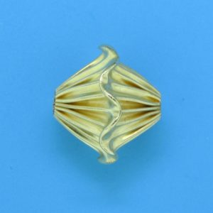 296 - 12.5x14mm Gold Filled Fancy Bead