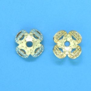 316 - 7mm Gold Filled Bead Cap