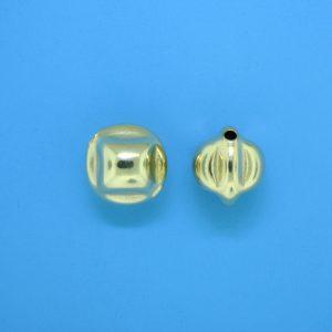 806 - 9.5x11mm Gold Filled Fancy Bead