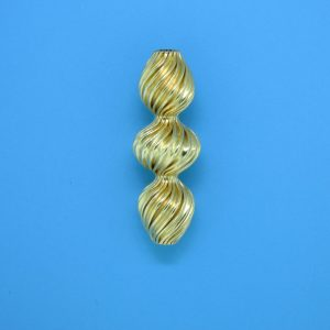 932 - 9x26mm Gold Filled Fancy Bead