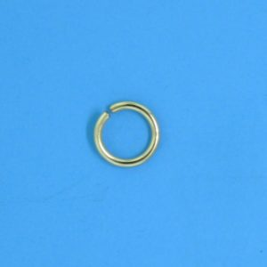 352 - 6mm Gold Filled Open Jump Ring