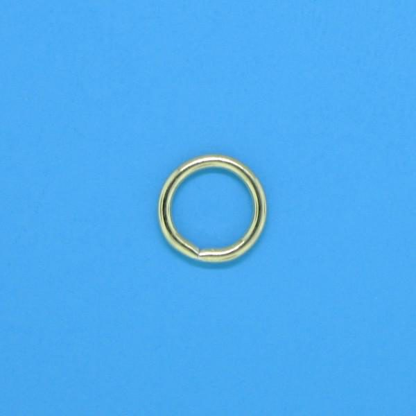 351 - 6mm Gold Filled Closed Jump Ring