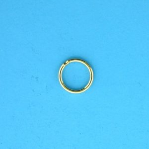 1725 - 7mm Gold Filled Closed Jump Ring