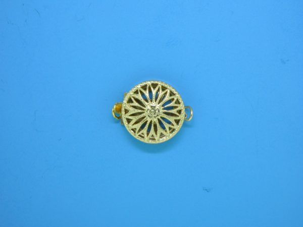 370 - 12mm Gold Filled Single Strand Clasp