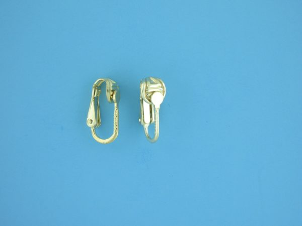 1776 - Gold Filled Ear Clip Earring