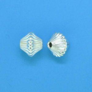 635 - Sterling Silver Fancy Bead