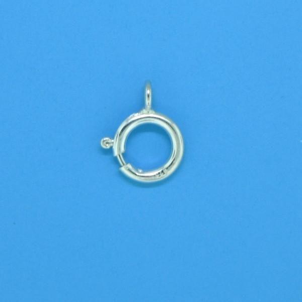 667 - 7mm Sterling Silver Spring Ring