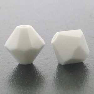 5301/5328 - 6mm Swarovski Bicone Crystal Bead -Chalk White