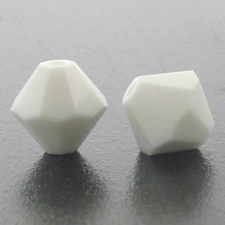 5301/5328 - 6mm Swarovski Bicone Crystal Bead -Chalk White