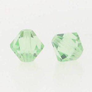 5301/5328 - 6mm Swarovski Bicone Crystal Bead - Chrysolite
