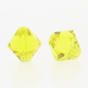 5301/5328 - 6mm Swarovski Bicone Crystal Bead -Citrine