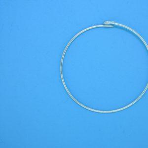 1496 - 31mm (22-G) Sterling Silver Hoop