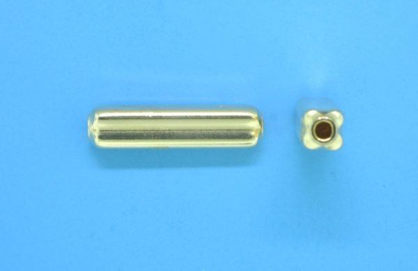 229 - 4x17.2mm Gold Filled Fancy Bead