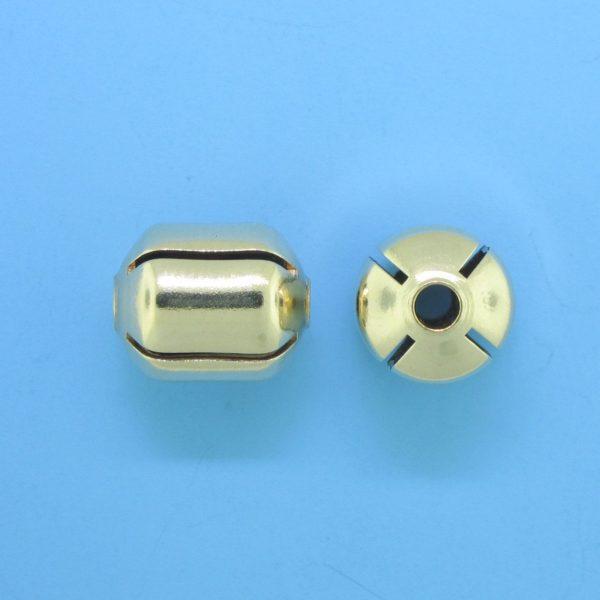 1054 - 10x11mm Gold Filled Fancy Bead