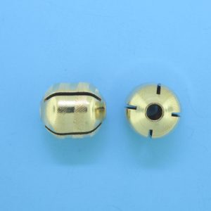 1057 - 10x11mm Gold Filled Fancy Bead